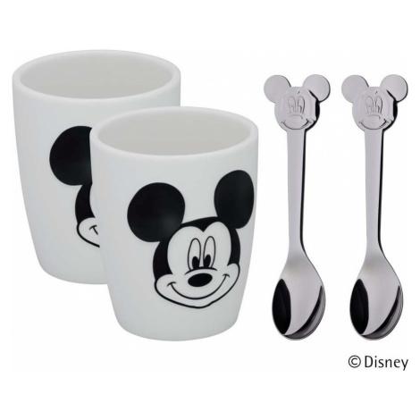 4dílný dětský jídelní set WMF Cromargan® Mickey Mouse