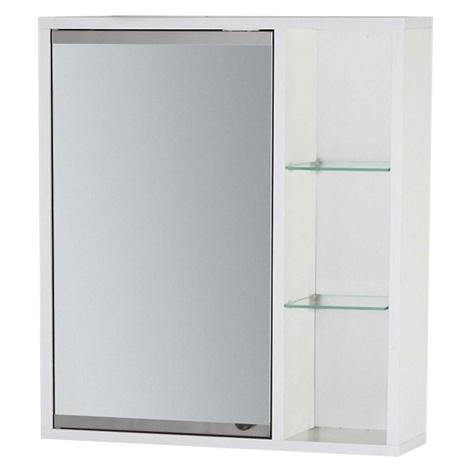 Závěsná skříňka se zrcadlem bílá Maja 50 BAUMAX