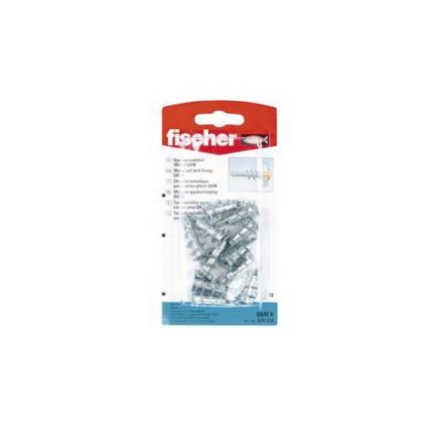 Hmoždinka do sádrokartonu Fischer GKM K 504330, Vnější délka 31 mm, Vnější Ø 8 mm, 10 ks