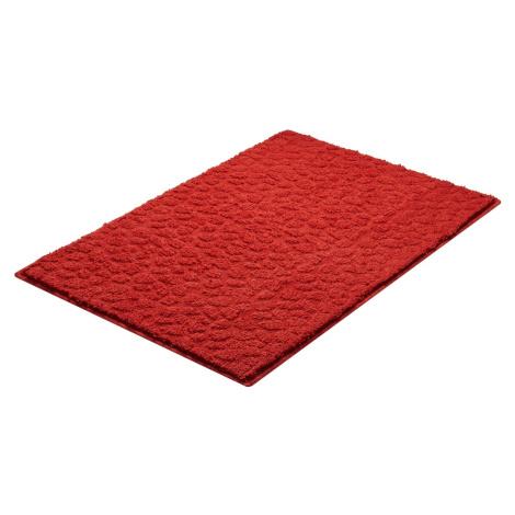 Koupelnová předložka Grund Stela 90x60 cm červená SIKODGSTE607