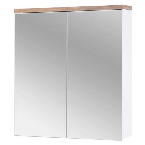Koupelnová skříňka se zrcadlem Bali 2D0S 60 BAUMAX