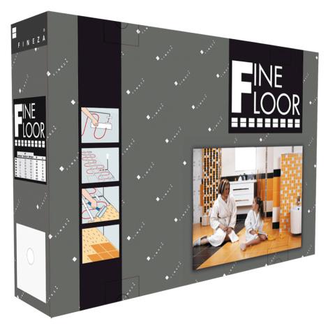 Teplá dlažba Fineza Fine Floor 10-16 m2 FFF