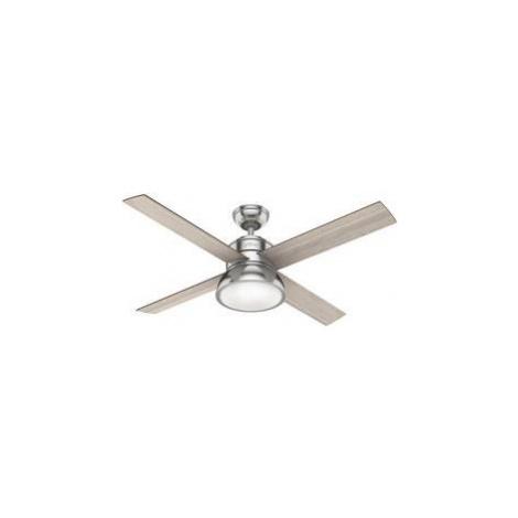 Stropní ventilátor Hunter Vnější Ø 132 cm, bílá